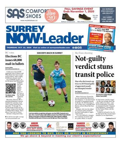 Surrey Now Leader, October 22, 2020