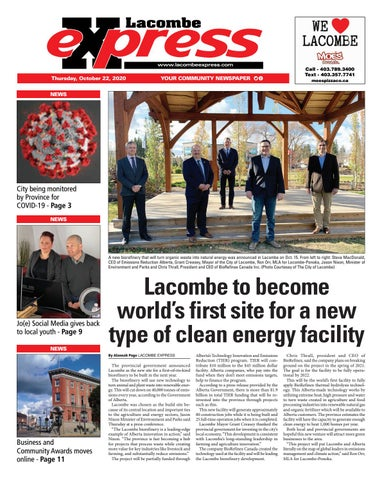 Lacombe Express, October 22, 2020