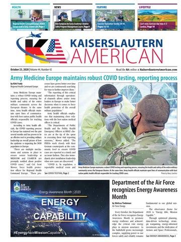 Kaiserslautern American - October 23, 2020