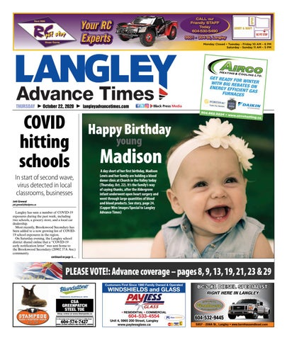 Langley Times, October 22, 2020
