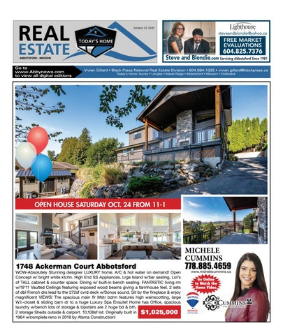 October 23, 2020 Real Estate Weekly - Abbotsford