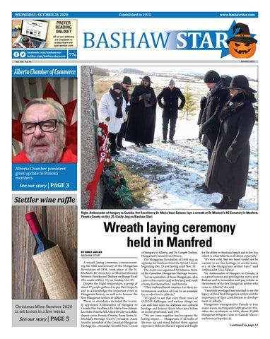 Bashaw Star, October 28, 2020