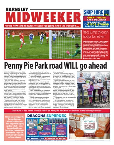 Barnsley Midweeker, Wednesday 28th October 2020 Front Cover