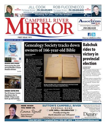 Campbell River Mirror, October 28, 2020