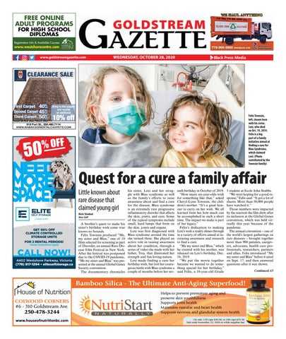 Goldstream News Gazette, October 28, 2020