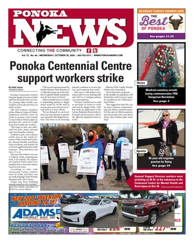 Ponoka News, October 28, 2020