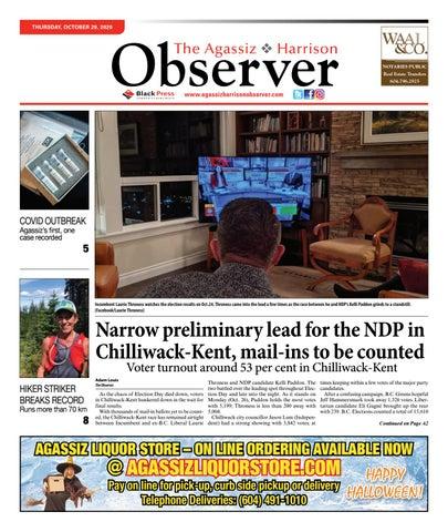 Agassiz Observer, October 29, 2020