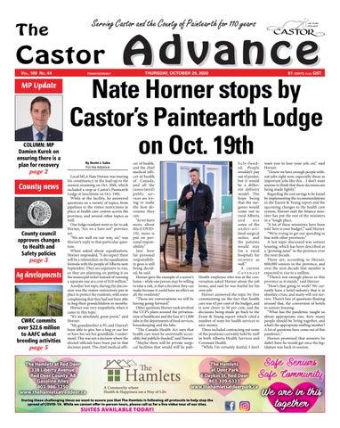 Castor Advance, October 29, 2020