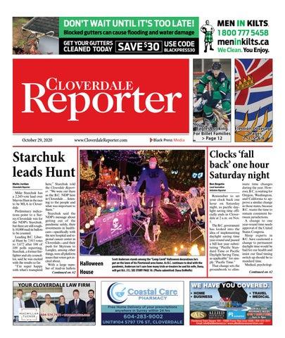 Cloverdale Reporter, October 29, 2020