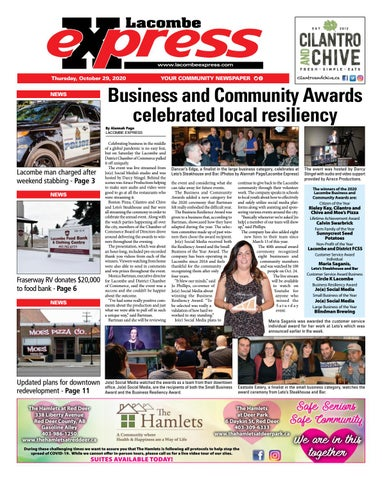 Lacombe Express, October 29, 2020