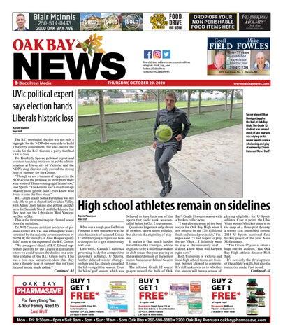 Oak Bay News, October 29, 2020