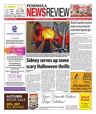 Peninsula News Review, October 29, 2020