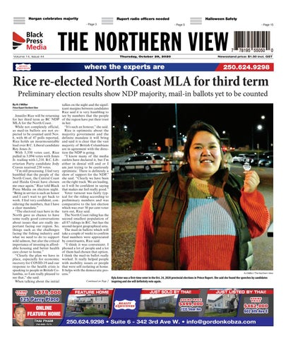 The Northern View/Northern Connector, October 29, 2020