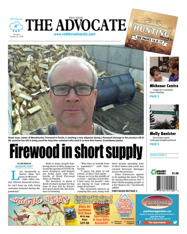 Red Deer Advocate, October 29, 2020