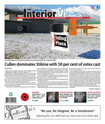 Smithers Interior News, October 29, 2020