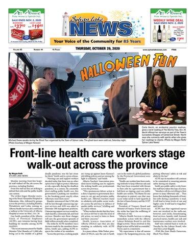 Sylvan Lake News, October 29, 2020