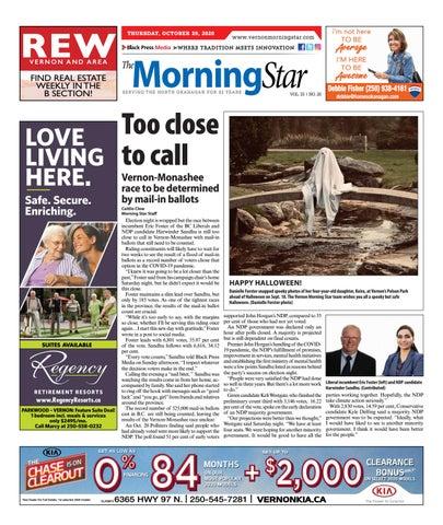 Vernon Morning Star, October 29, 2020