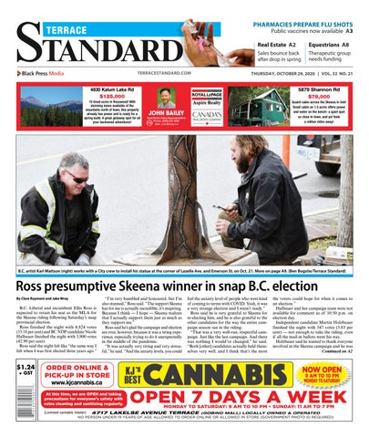 Terrace Standard, October 29, 2020