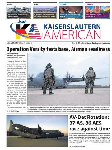 Kaiserslautern American - October 30, 2020