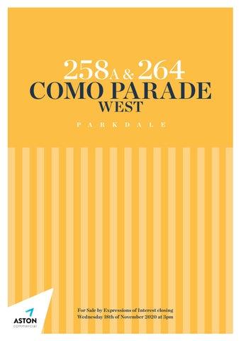 258A & 264 Como Parade West, Parkdale