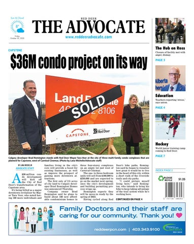 Red Deer Advocate, October 30, 2020