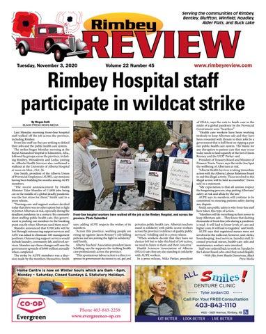 Rimbey Review, November 3, 2020