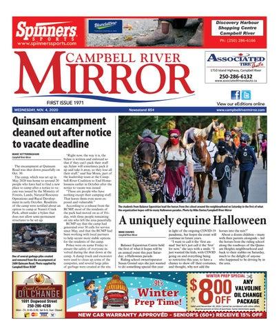 Campbell River Mirror, November 4, 2020