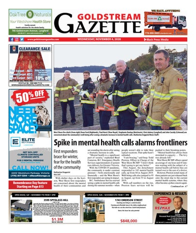 Goldstream News Gazette, November 4, 2020