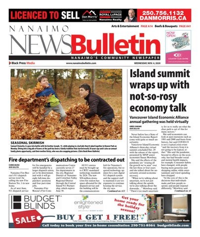 Nanaimo News Bulletin, November 4, 2020