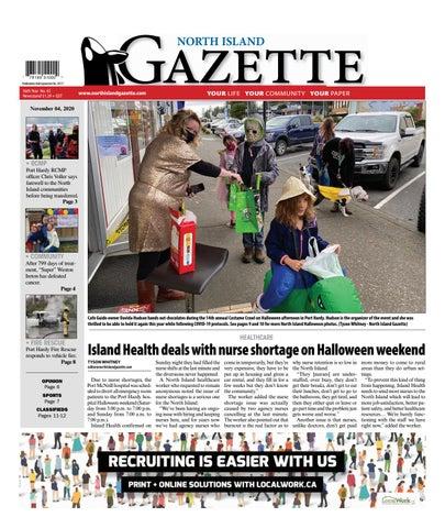 North Island Gazette, November 4, 2020