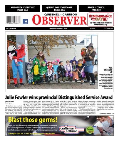 Quesnel Cariboo Observer, November 4, 2020