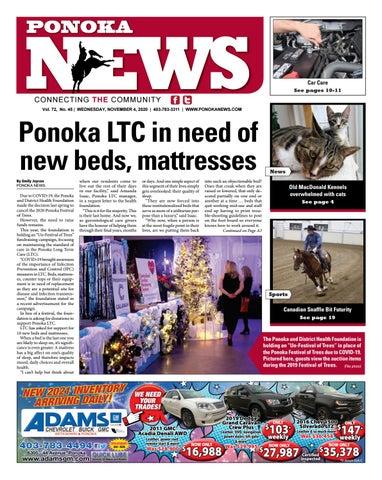 Ponoka News, November 4, 2020