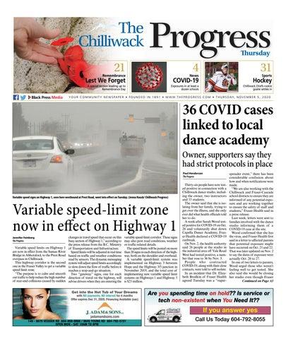 Chilliwack Progress, November 5, 2020
