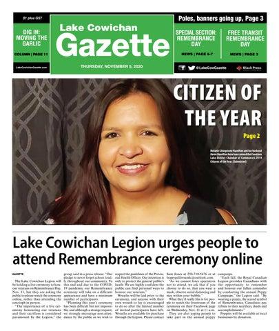 Lake Cowichan Gazette, November 5, 2020