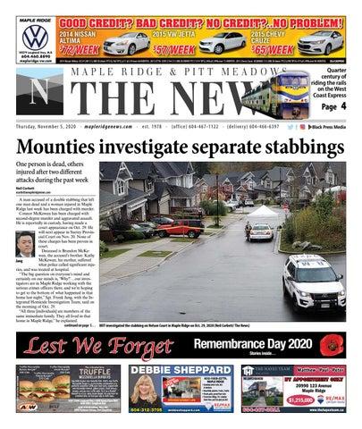 Maple Ridge News, November 5, 2020