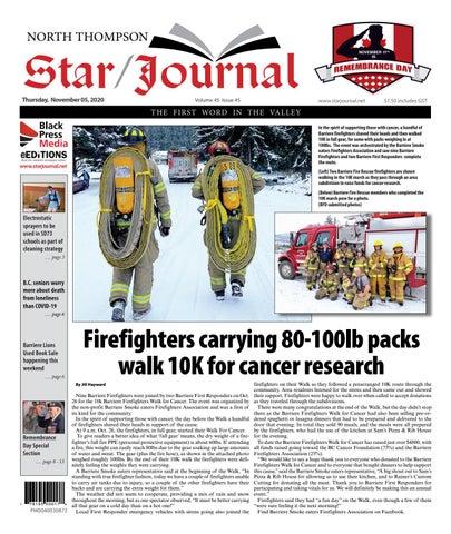 Barriere Star Journal, November 5, 2020