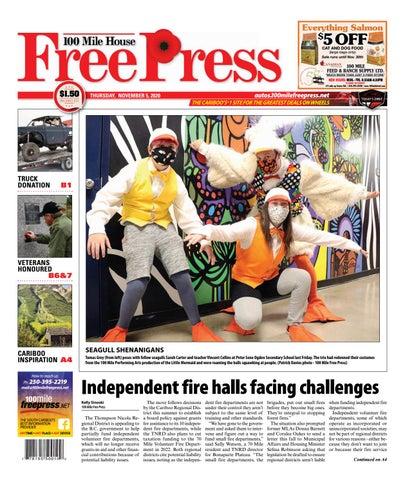 100 Mile House Free Press, November 5, 2020