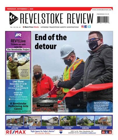 Revelstoke Times Review, November 5, 2020