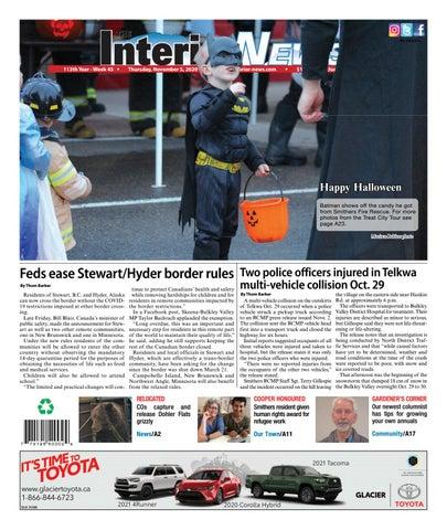 Smithers Interior News, November 5, 2020