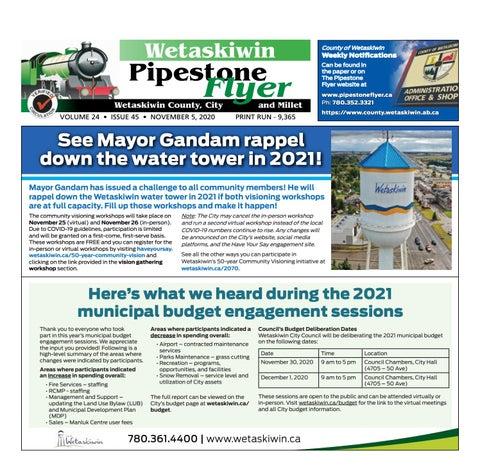 November 05, 2020 Pipestone Flyer