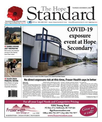Hope Standard, November 5, 2020