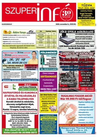 Hajduszoboszlo 2020.11.06
