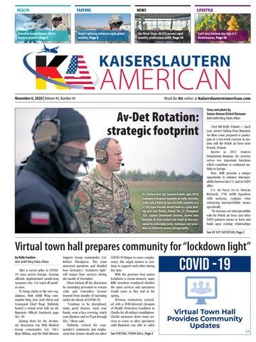 Kaiserslautern American - November 6, 2020