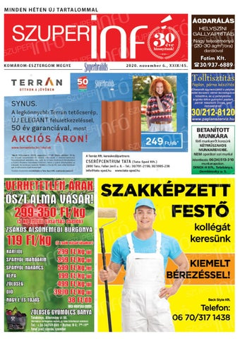 Tatabánya 2020.11.06