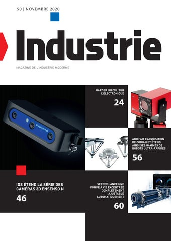 Industrie | 50 - Novembre 2020