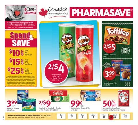 Pharmasave Effective Nov 6 - Nov12