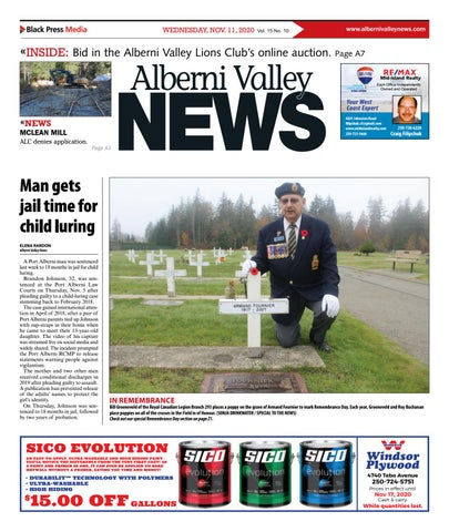 Alberni Valley News, November 11, 2020