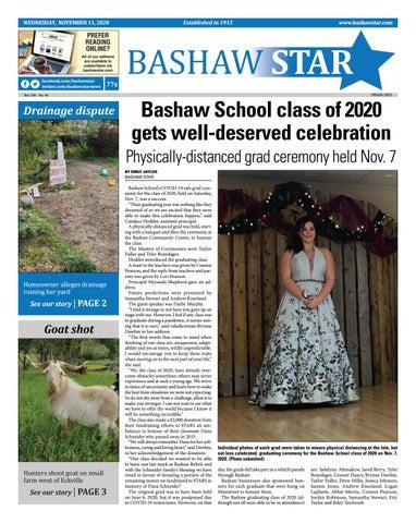 Bashaw Star, November 11, 2020
