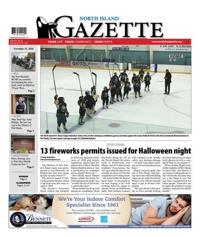 North Island Gazette, November 11, 2020
