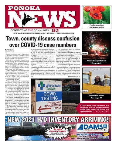 Ponoka News, November 11, 2020